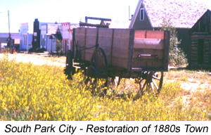 South Park City Restoration of 1880s Town